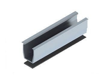 Profil  U din aluminiu 30 * 30 * 350 mm - acoperis tabla / sindrila