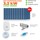 CASA VERDE - Kit fotovoltaic complet 3.2 KW