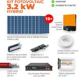 Kit HYBRID 3,2 KW + Pylontech 2,4 KW Litiu