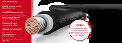 Cablu solar 6mm - RED - HIKRA® SOL (H1Z2Z2-K)